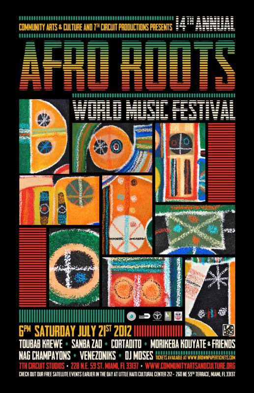14th Afro Roots Festival - Saturday, July 21st, 2012 @ 7th Circuit Studios
