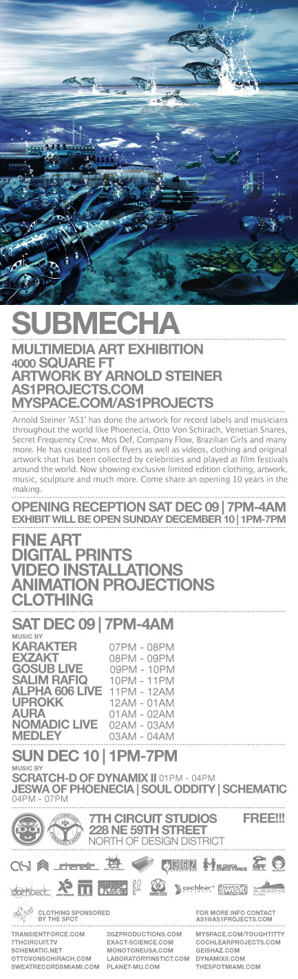 Moksha Art Fair 2006 presents The Artwork of Arnold Steiner - Submecha