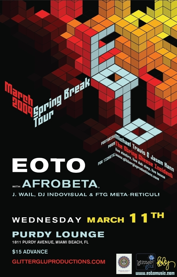 EOTO with AFROBETA - March 11, 2009
