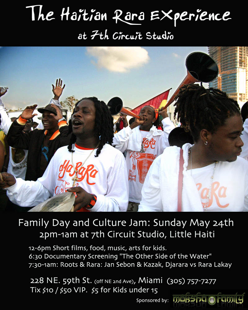 The Haitian Rara Experience @ 7th Circuit Studios