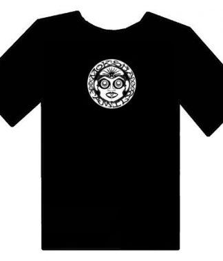 Bhakti Moksha Symbol Shirt - Black