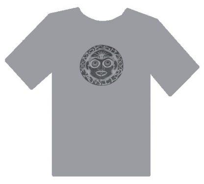 Bhakti Moksha Symbol Shirt - Grey
