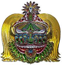 Chris Dyer Moksha Symbol Pin