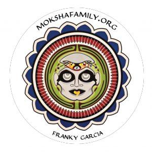 Franky Garcia Moksha Symbol Sticker
